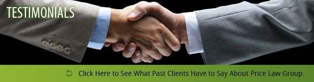 See what our past clients have to say about Price Law Group